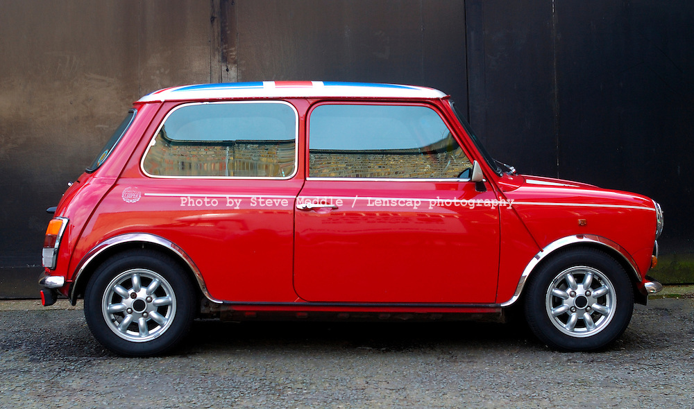 Mini Cooper Sports Car.