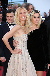 Sandrine Kiberlain and jury member Elodie Bouchez arriving at Les Fantomes d'Ismael screening and opening ceremony held at the Palais Des Festivals in Cannes, France on May 17, 2017, as part of the 70th Cannes Film Festival. Photo by David Boyer/ABACAPRESS.COM