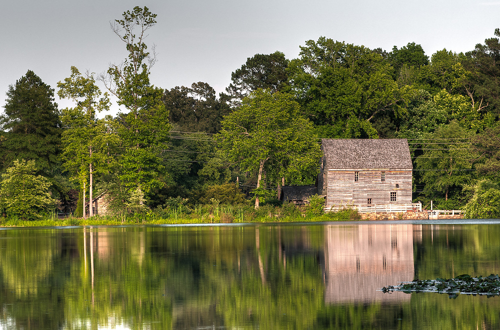 Yates Mill, Yates Pond, Raleigh, North Carolina