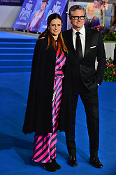 © Licensed to London News Pictures. 12/12/2018. London, UK. LIVIA FIRTH and COLIN FIRTH attends attends the Mary Poppins Returns European film premiere held at the Royal Albert Hall. Photo credit: Ray Tang/LNP