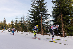 18.01.2014, Nordic Arena, Szklarska Poreba, POL, FIS Weltcup Langlauf, Szklarska Poreba, Damen, 1,5 KM Sprint Frei, Qualification, im Bild JUSTYNA KOWALCZYK // JUSTYNA KOWALCZYK during the Qualification of Ladies 1.5 km Sprint Free oft the Szklarska Poreba FIS Cross Country world cup at the Nordic Arena in Szklarska Poreba, Poland on 2014/01/18. EXPA Pictures © 2014, PhotoCredit: EXPA/ Newspix/ Sebastian Borowski<br /> <br /> *****ATTENTION - for AUT, SLO, CRO, SRB, BIH, MAZ, TUR, SUI, SWE only*****