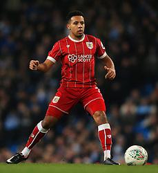 Korey Smith of Bristol City - Mandatory by-line: Matt McNulty/JMP - 09/01/2018 - FOOTBALL - Etihad Stadium - Manchester, England - Manchester City v Bristol City - Carabao Cup Semi-Final First Leg