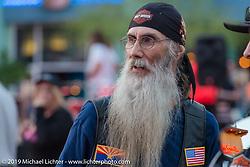 Westgate Mall's weekly bike night on Wednesday of Arizona Bike Week 2014. USA. April 3, 2014.  Photography ©2014 Michael Lichter.