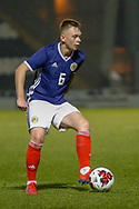 Ciaran Dickson (Rangers FC) during the U17 European Championships match between Portugal and Scotland at Simple Digital Arena, Paisley, Scotland on 20 March 2019.