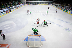 Goalkeeper of Olimpija Ales Sila at 6th Round of ice-hockey Slovenian National Championships match between HDD Tilia Olimpija and HK Acroni Jesenice, on April 2, 2010, Hala Tivoli, Ljubljana, Slovenia.  Acroni Jesenice won 3:2 after overtime and became Slovenian National Champion 2010. (Photo by Vid Ponikvar / Sportida)