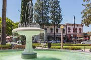Orange Plaza Historic District in Orange California