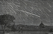 The Andromedes, a shower of meteors observed at Boston, USA, November 1872.