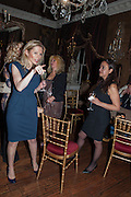 CLARE CONNELL; SUSIE ANSARY, Eva Harold birthday party. Ballroom, Beach Blanket Babylon. Notting Hill, London. 19 November 2012.