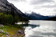 Medicine Lake in Jasper National Park