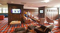 SPIJK - Kleedkamer Golfclub THE DUTCH bij Gorinchem. The Dutch is een privégolfclub die uitsluitend toegankelijk is voor members en hun gasten. Members worden begeleidt door de 10 professionals van Made in Scotland. FOTO KOEN SUYK
