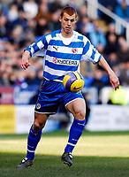 Photo: Alan Crowhurst.<br />Reading v Aston Villa. The Barclays Premiership. 10/02/2007. Reading's Steve Sidwell.