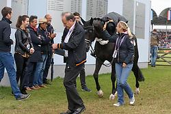 Barbancon Mestre Morgan, (ESP), Painted Black<br /> Grand Prix Kur<br /> European Championships - Aachen 2015<br /> © Hippo Foto - Dirk Caremans<br /> 16/08/15