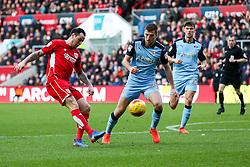 Lee Tomlin of Bristol City - Rogan Thomson/JMP - 04/02/2017 - FOOTBALL - Ashton Gate Stadium - Bristol, England - Bristol City v Rotherham United - Sky Bet Championship.