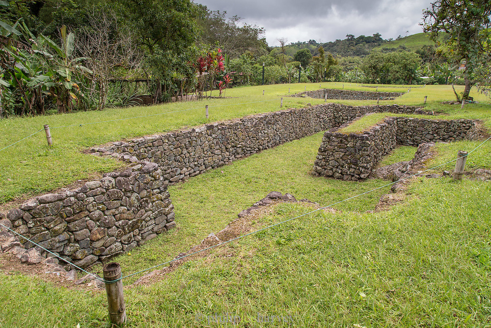 Tulipe Archaeological Site, Ecuador, South America
