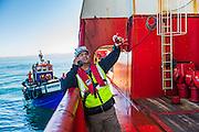 GAC Employee onboard the Boa Sub C Multi purpose Offshore Vessel