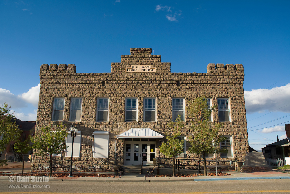 Courthouse, built 1907, Goldfield, Nevada