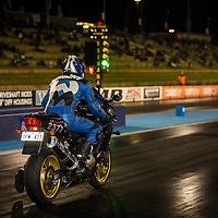 Paul McNamara (2377) takes the green light on his Kawasaki ZX-12R in Modified Bike at the Perth Motorplex.