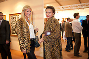 BELLA BUCHANAN; DELILAH KHOMO;, Opening of ARTLondon 2010. Royal Hospital.  Royal Hospital Rd. London. 6 October 2010.  -DO NOT ARCHIVE-© Copyright Photograph by Dafydd Jones. 248 Clapham Rd. London SW9 0PZ. Tel 0207 820 0771. www.dafjones.com.