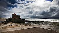 AMBLETEUSE - Fort Mahon is een fort aan de kust in  de gemeente Ambleteuse - Fort in zee . Copyright Koen Suyk