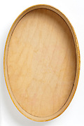 wooden oval box