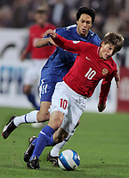 Fotball<br /> EM-kvalifisering<br /> 07.10.2006<br /> Russland v Israel<br /> Foto: Dppi/Digitalsport<br /> NORWAY ONLY<br /> <br /> FOOTBALL - EURO 2008 - QUALIFYING ROUND - GROUP E  - RUSSIA v ISRAEL - 07/10/2006<br /> <br /> ANDREI ARSHAVIN (RUS) / IDAN TAL (ISR)