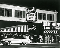 1953 Patrons at Mocambo Nightclub on Sunset Blvd. in West Hollywood