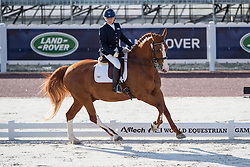 Lee Frawley, (ISV), Rhapsody - Team Competition Grade IV Para Dressage - Alltech FEI World Equestrian Games™ 2014 - Normandy, France.<br /> © Hippo Foto Team - Jon Stroud <br /> 25/06/14