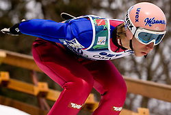 KOCH Martin, SV Villach, AUT  competes during Flying Hill Team Trial Round at 4th day of FIS Ski Flying World Championships Planica 2010, on March 21, 2010, Planica, Slovenia.  (Photo by Vid Ponikvar / Sportida)