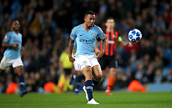 Manchester City's Gabriel Jesus scores his side's sixth goal of the game