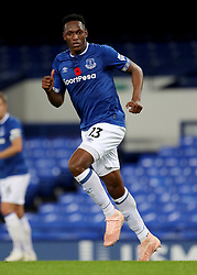 Everton's Yerry Mina during the SportPesa Trophy match at Goodison Park, Liverpool. PRESS ASSOCIATION Photo. Picture date: Tuesday November 6, 2018. See PA story SOCCER Everton. Photo credit should read: Richard Sellers/PA Wire
