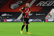 Junior Stanislas (19) of AFC Bournemouth 'during the EFL Sky Bet Championship match between Bournemouth and Nottingham Forest at the Vitality Stadium, Bournemouth, England on 24 November 2020.