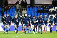 Groupe Castres - 31.01.2015 - Castres / Stade Toulousain - 17eme journee de Top 14 -<br />Photo : Laurent Frezouls / Icon Sport