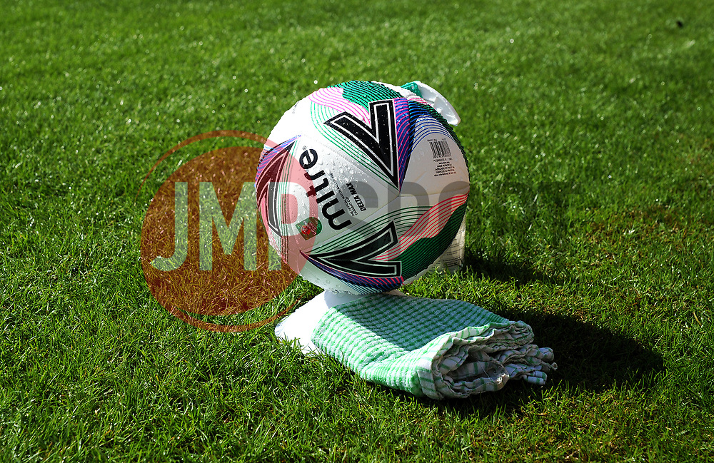 Match ball - Mandatory by-line: Nizaam Jones/JMP - 05/09/2020 - FOOTBALL - New Lawn Stadium - Nailsworth, England - Forest Green Rovers v Leyton Orient - Carabao Cup