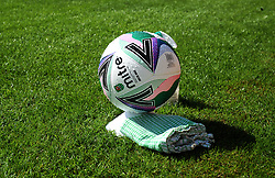 Match ball - Mandatory by-line: Nizaam Jones/JMP - 05/09/2020 - FOOTBALL - New Lawn Stadium - Nailsworth, England - Forest Green Rovers v Leyton Orient - Carabao Cup