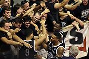 DESCRIZIONE : Pistoia Lega A 2014-2015 Giorgio Tesi Group Pistoia Granarolo Bologna<br /> GIOCATORE : tifosi Abdul Gaddy Jeremy Hazell Allan Ray<br /> CATEGORIA : tifosi esultanza<br /> SQUADRA : Granarolo Bologna<br /> EVENTO : Campionato Lega A 2014-2015<br /> GARA : Giorgio Tesi Group Pistoia Granarolo Bologna<br /> DATA : 09/11/2014<br /> SPORT : Pallacanestro<br /> AUTORE : Agenzia Ciamillo-Castoria/GiulioCiamillo<br /> GALLERIA : Lega Basket A 2014-2015<br /> FOTONOTIZIA : Pistoia Lega A 2014-2015 Giorgio Tesi Group Pistoia Granarolo Bologna<br /> PREDEFINITA :