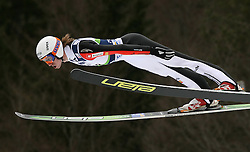 Primoz Pikl (SLO) at Qualification's 1st day of 32nd World Cup Competition of FIS World Cup Ski Jumping Final in Planica, Slovenia, on March 19, 2009. (Photo by Vid Ponikvar / Sportida)
