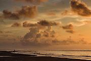 Sunrise at Isle of Palms beach at Wild Dunes near Charleston, South Carolina.