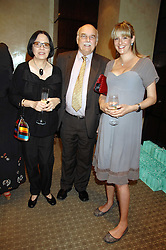 Left to right, LORD & LADY TANLAW and LADY LOUISE VAUGHAN at an evening of private shopping in aid of Elizabeth Fitzroy Support at Tiffany & Co, 145 Sloane Street, London on 14th May 2008.<br /><br />NON EXCLUSIVE - WORLD RIGHTS
