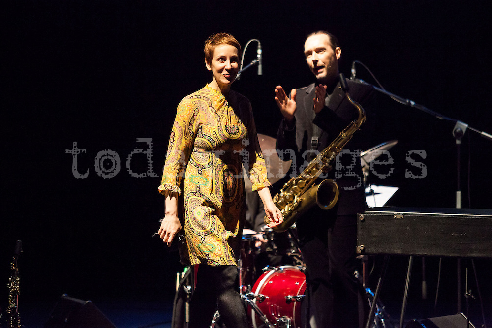 """Stacey Kent at the """"Jazz festival of Madrid"""""""