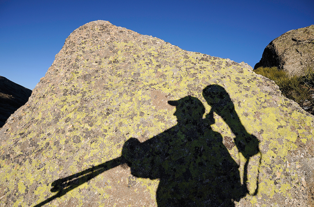 Shadow, Gredos mountains, Spain