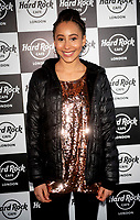 Maya Sponz at the Hard Rock Cafe celebrity-studded Christmas party for children's charity Fight For Life LONDON, 2 December 2019