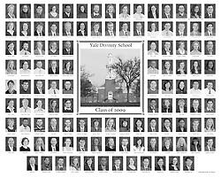 2009 Yale Divinity School Senior Portraits Composite Photograph
