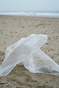 Vervuiling, plastic op het strand