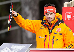 03.01.2014, Bergisel Schanze, Innsbruck, AUT, FIS Ski Sprung Weltcup, 62. Vierschanzentournee, Training, im Bild Stefan Horngacher, Trainer (GER) // Stefan Horngacher, Trainer (GER) during practice Jump of 62nd Four Hills Tournament of FIS Ski Jumping World Cup at the Bergisel Schanze, Innsbruck, <br /> Austria on 2014/01/03. EXPA Pictures © 2014, PhotoCredit: EXPA/ JFK