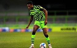 Ebou Adams of Forest Green Rovers in action- Mandatory by-line: Nizaam Jones/JMP - 16/01/2021 - FOOTBALL - innocent New Lawn Stadium - Nailsworth, England - Forest Green Rovers v Port Vale - Sky Bet League Two