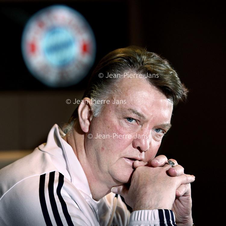 Duitsland, Munchen , 18 januari 2010..(Louis) van Gaal (Amsterdam, 8 augustus 1951) is een Nederlands voetbaltrainer, die momenteel onder contract staat bij Bayern München..Foto:Jean-Pierre Jans