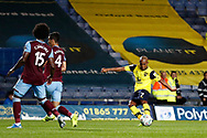 Rob Hall (7) of Oxford United shoots at goal during the EFL Cup match between Oxford United and West Ham United at the Kassam Stadium, Oxford, England on 25 September 2019.