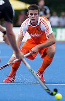 UTRECHT -  Robbert Kemperman van Oranje ,zaterdag tijdens de  hockey interland tussen de mannen van Nederland en Duitsland (4-2). COPYRIGHT KOEN SUYK