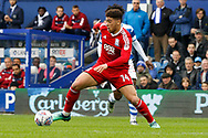 Birmingham City forward Che Adams (14) during the EFL Sky Bet Championship match between Queens Park Rangers and Birmingham City at the Loftus Road Stadium, London, England on 28 April 2018. Picture by Andy Walter.