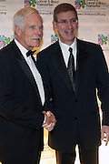 l to r: Ted Turner and Lieberman at Children's Cancer & Blood Foundation Breakthrough Ball held at The Plaza Hotel on October 20, 2009..